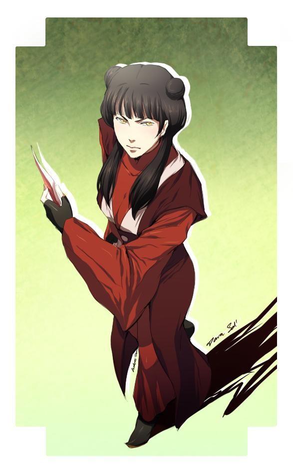 Tags: Anime, Avatar: The Last Airbender, Hair Buns, Mai