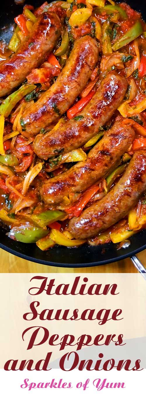 Italian Sausage Peppers and Onions