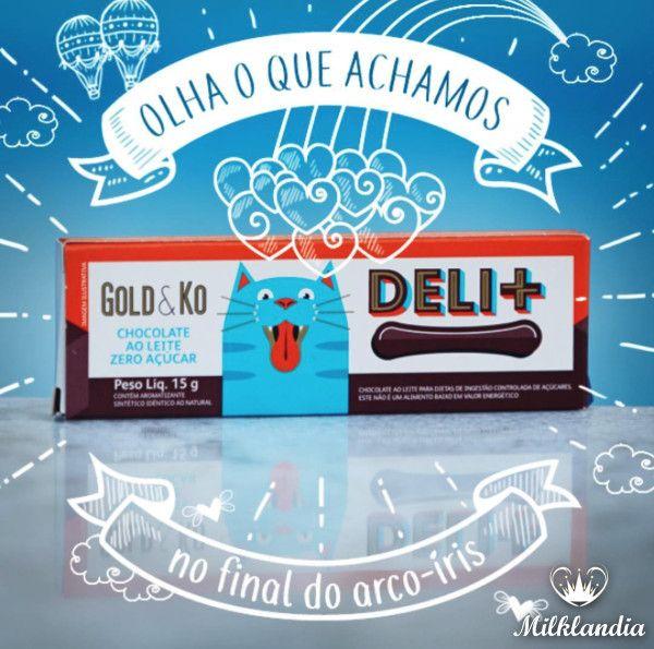 O que já é bom, pode ficar ainda melhor😍  O DELI + ZERO AÇUCAR é a prova disso‼️🍫    ➡️http://bit.ly/2rMr8Z4    #gold&ko #zeroaçucar #chocolate #chocolateevida #muitoamor