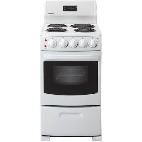 Der2099w Danby 20 Freestanding Electric Range With Oven Freestanding Electric Ranges Tiny House Living Small Electrics