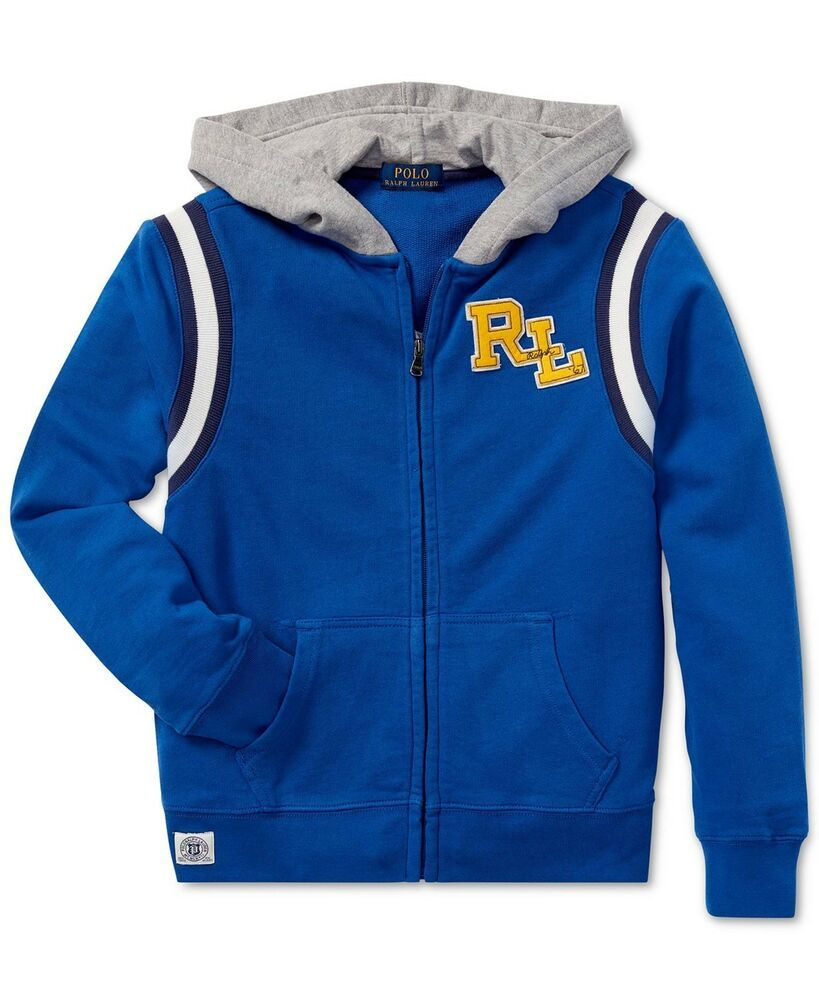 ca5618a32 NWT Polo Ralph Lauren Boys Cotton French Terry Hoodie Jacket 4T # PoloRalphLauren #Hoodie #Everyday