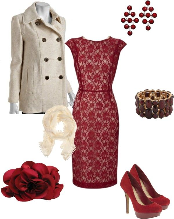 """Christmas Party (disneydiva7) - Cheapskate version"" by centricity on Polyvore"