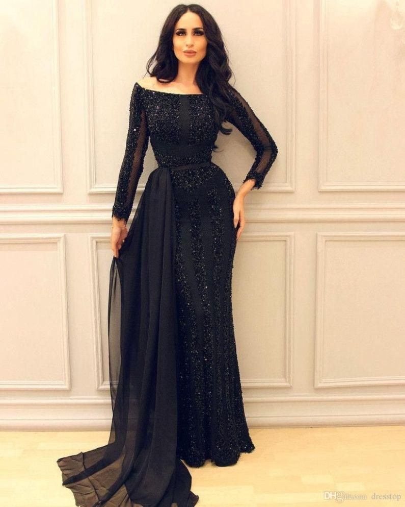 12 Kleider Abendgarderobe in 2020 | Abendkleid mit ärmeln ...