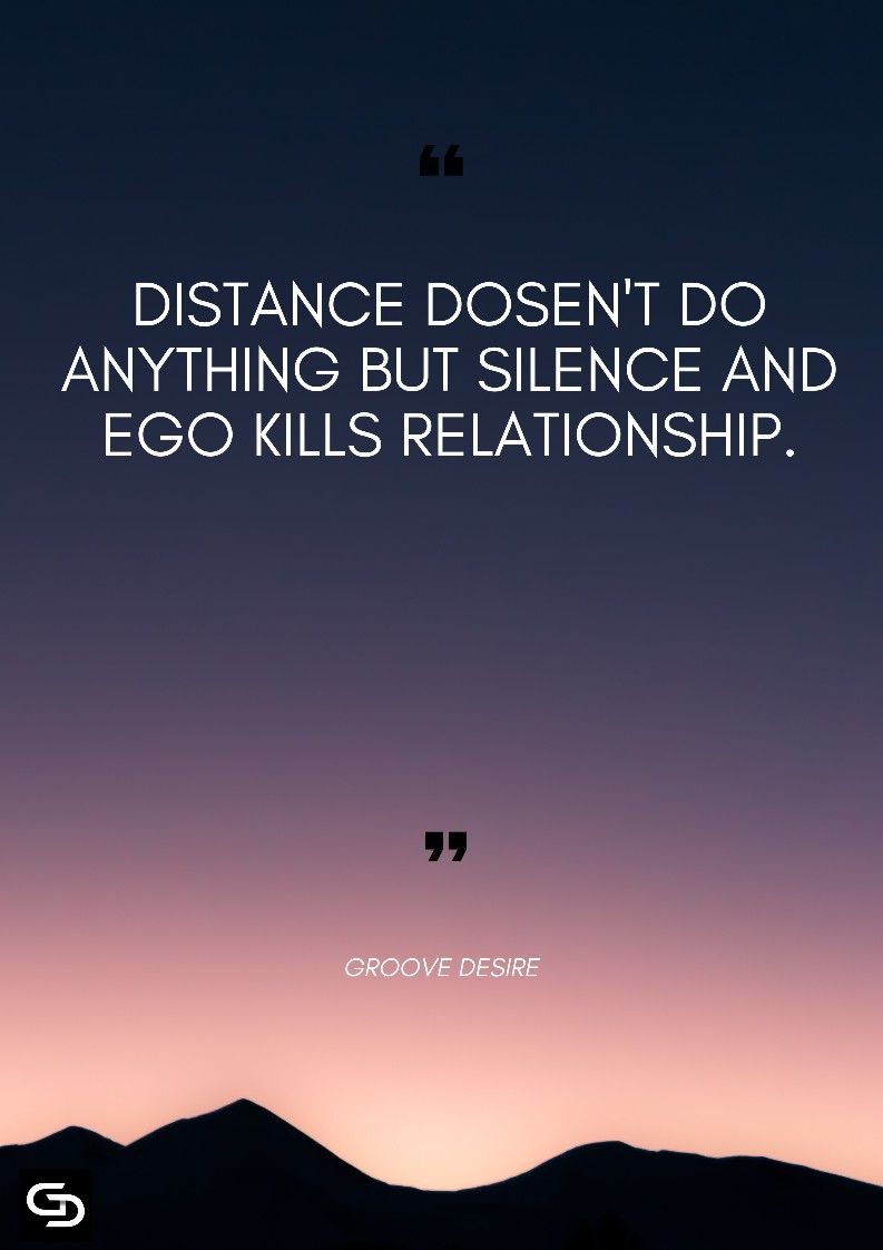 Distance Doesn T Do Anything Love Picture Quotes Genius Quotes Inspirational Quotes Motivation