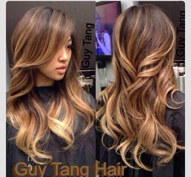 sombre asian hair - Google Search