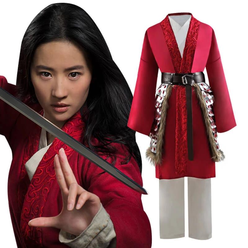 2020 Disney Mulan Adults Hua Mulan Cosplay Costumes Ideas Accosplay In 2020 Mulan Outfit Cosplay Costumes Hua Mulan