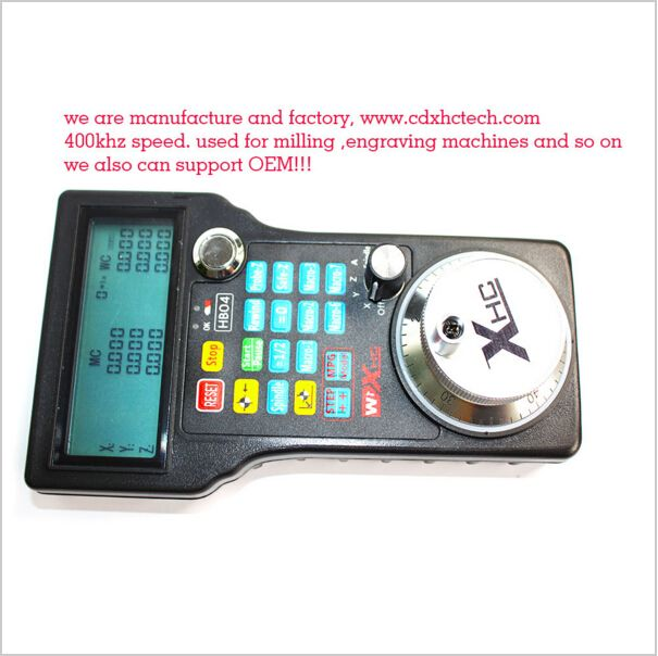 Engraving machine remote control handwheel mach3 MPG USB wireless