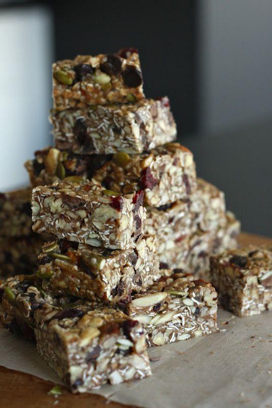 cher stuff: no-bake salted nut bars