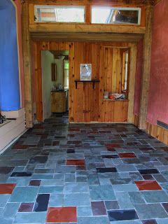 Vermont Slate Flooring   Slate Floor And Living Roof Prep