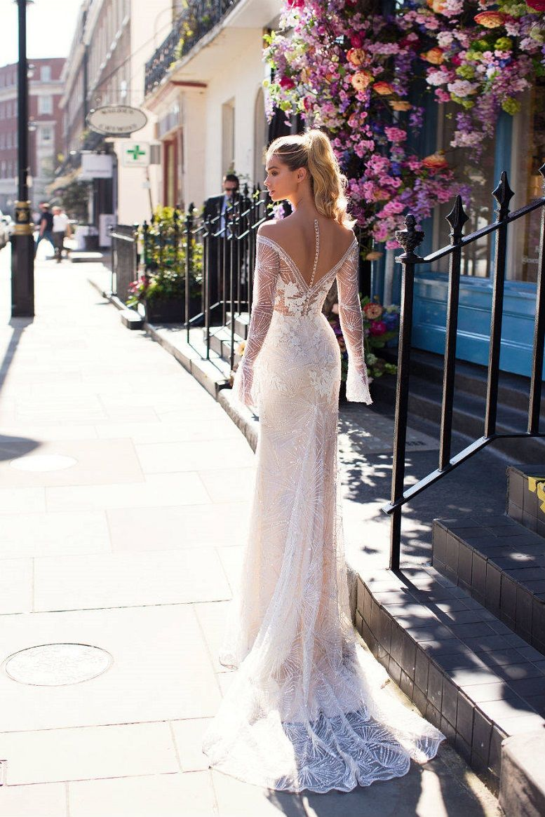 Milla Nova Blooming London Bridal Collection, Mermaid wedding dress, heavy embellishment wedding dress #weddingdress #weddinggown