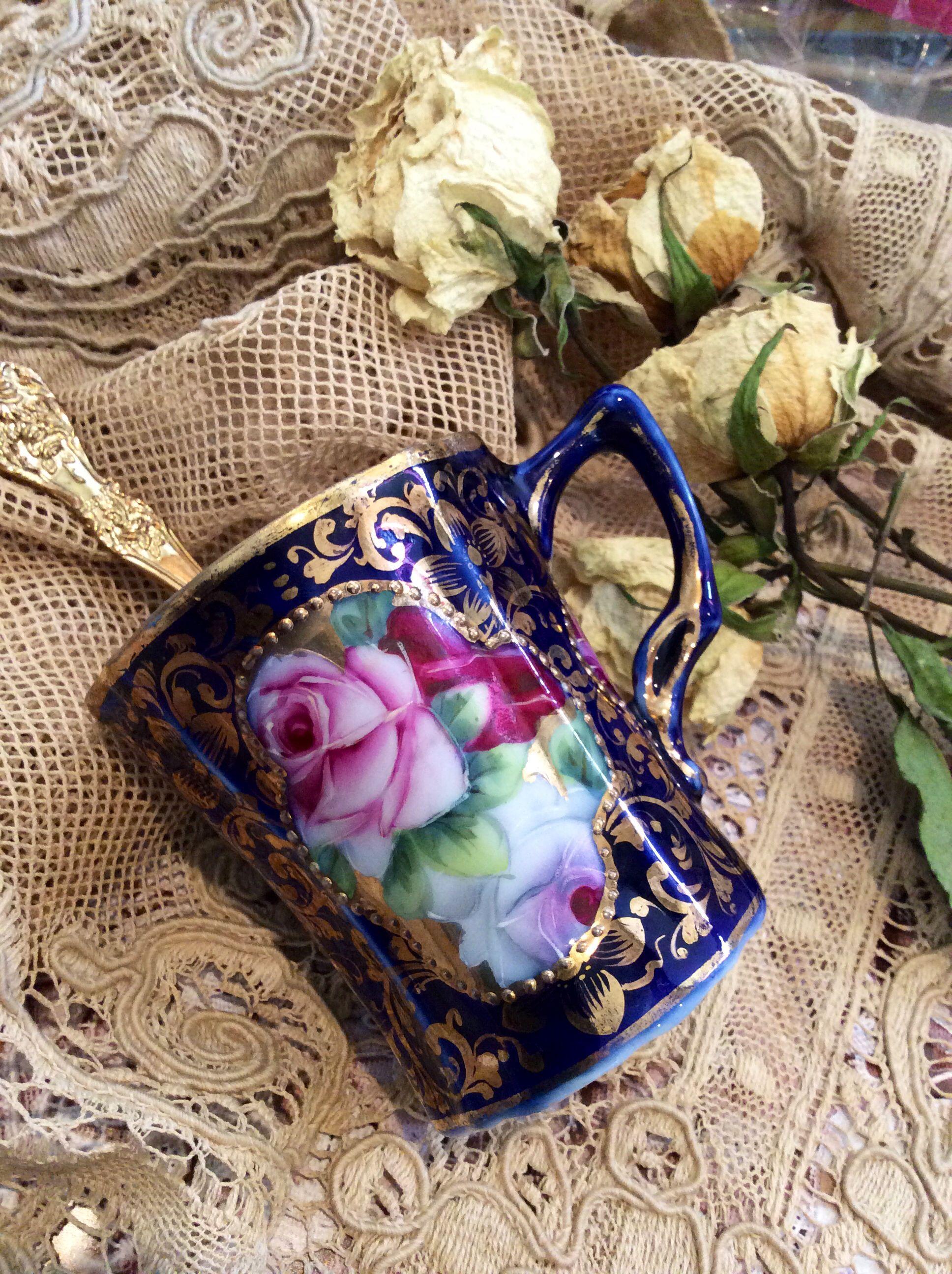 Vintage Teacup Antique Tea Tea Art Tea And Crumpets