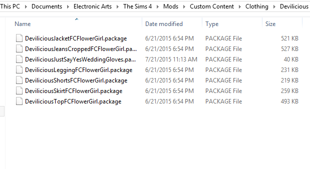 Keeping Your The Sims 4 Folder Tidy Mods Sims 4 Sims Mod