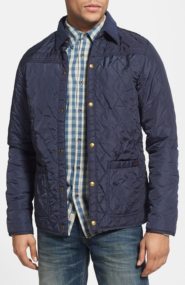 Scotch & Soda quilted nylon men's jacket. #Outerwear #Menswear ... : quilted nylon jacket - Adamdwight.com