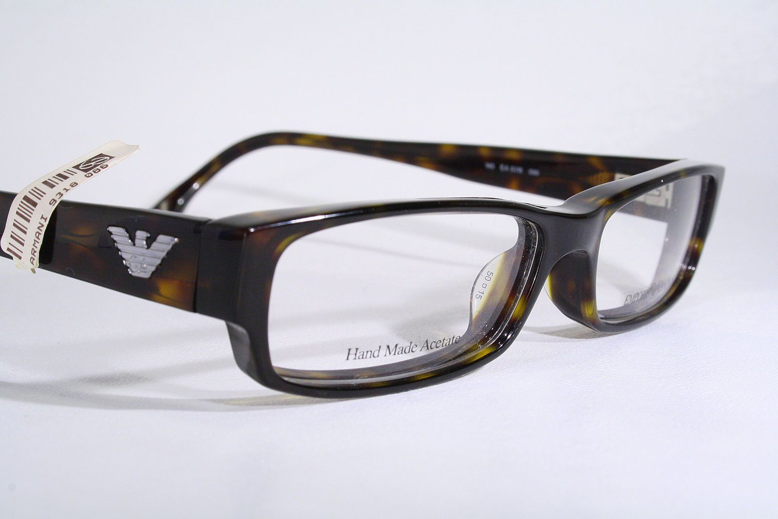 EMPORIO ARMANI EA 9318 Women\'s New Translucent Tortoise Eyeglass ...