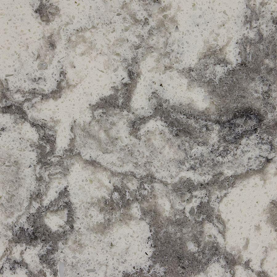 allen roth frosted billow quartz kitchen countertop sample