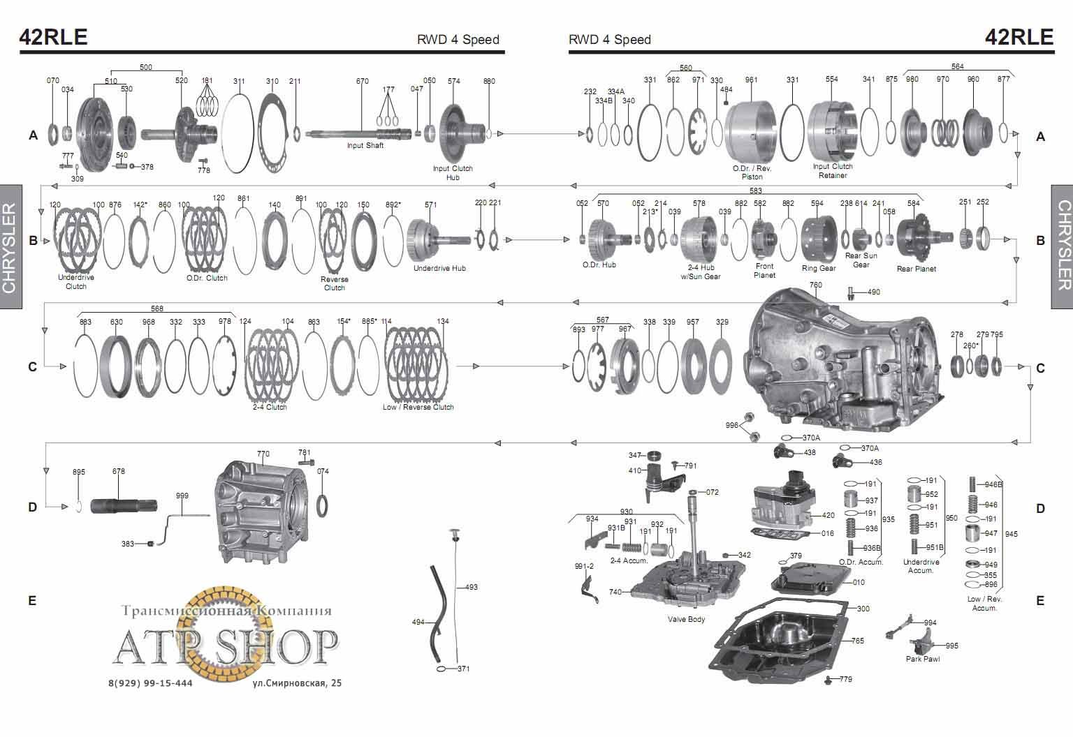 Caja Automática Jeep: CAJA AUTOMÁTICA JEP WRANGLER 03-08