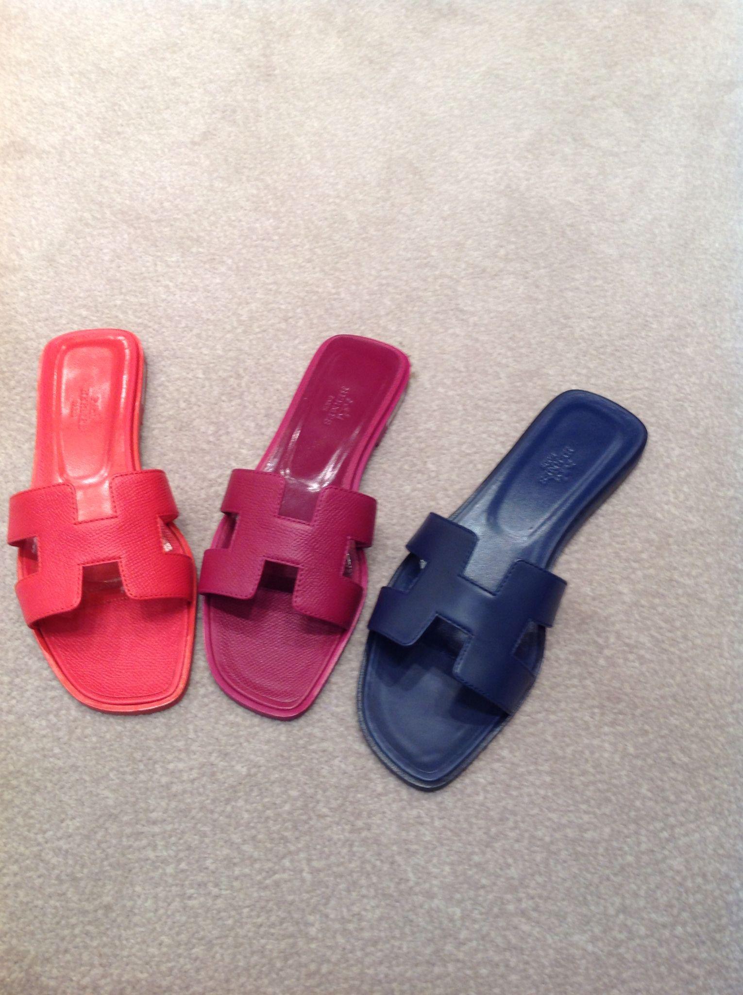 Hermes Oran Sandals | Sandales, Chaussure, Soulier