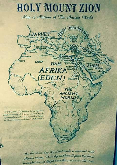 Garden of eden alkebulan land of the blacks faits - Olive garden colonial heights virginia ...