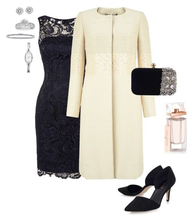 """""""Up and coming wedding outfit"""" by jules-morris on Polyvore featuring Adrianna Papell, Phase Eight, Miss KG, Michael Kors, Balenciaga, BERRICLE, Tiffany & Co., DKNY, women's clothing and women"""