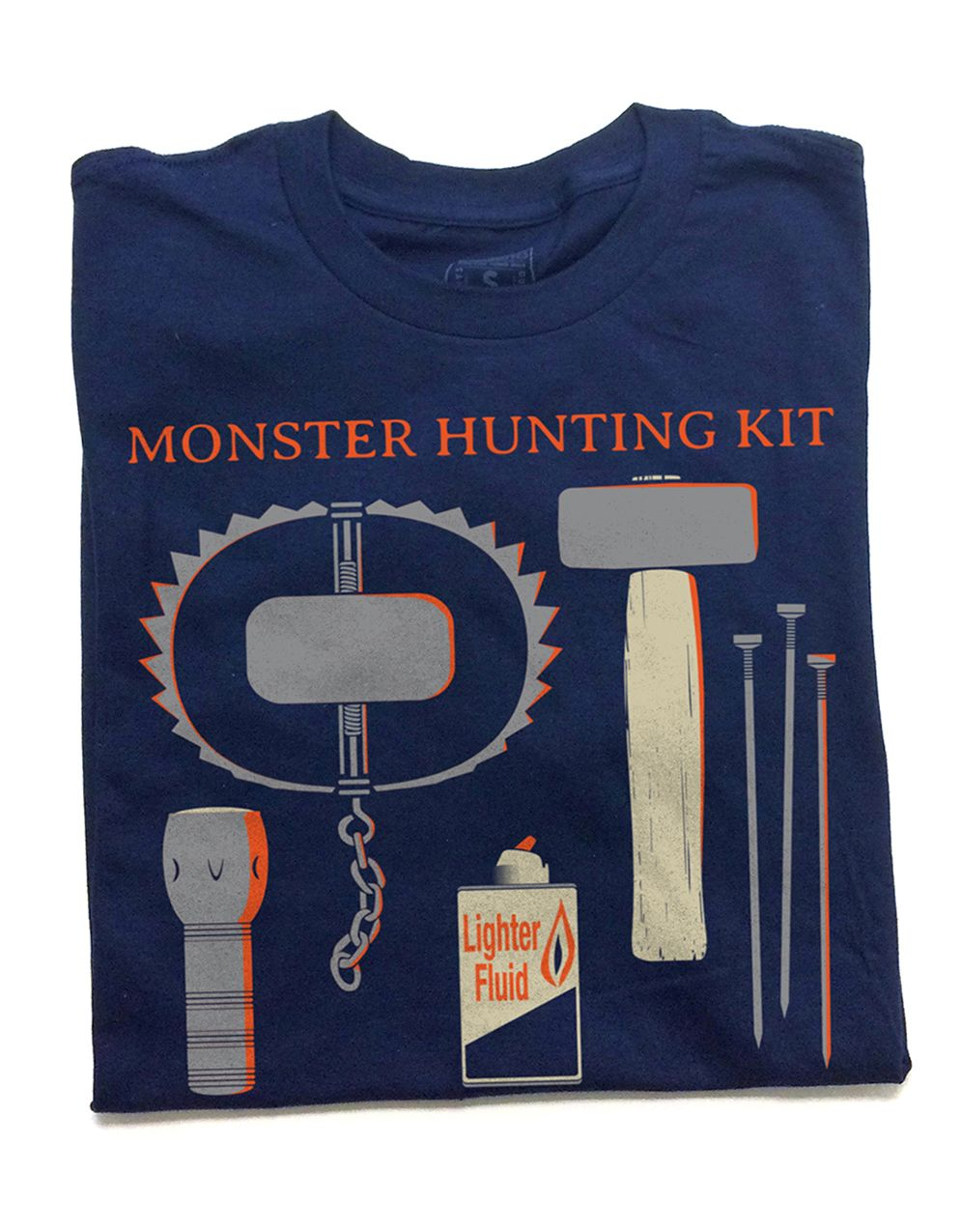 monster hunting kit t shirt i d wear that pinterest strange