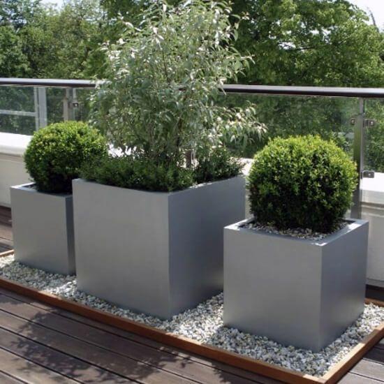 Capital Garden Geo Cube Planters