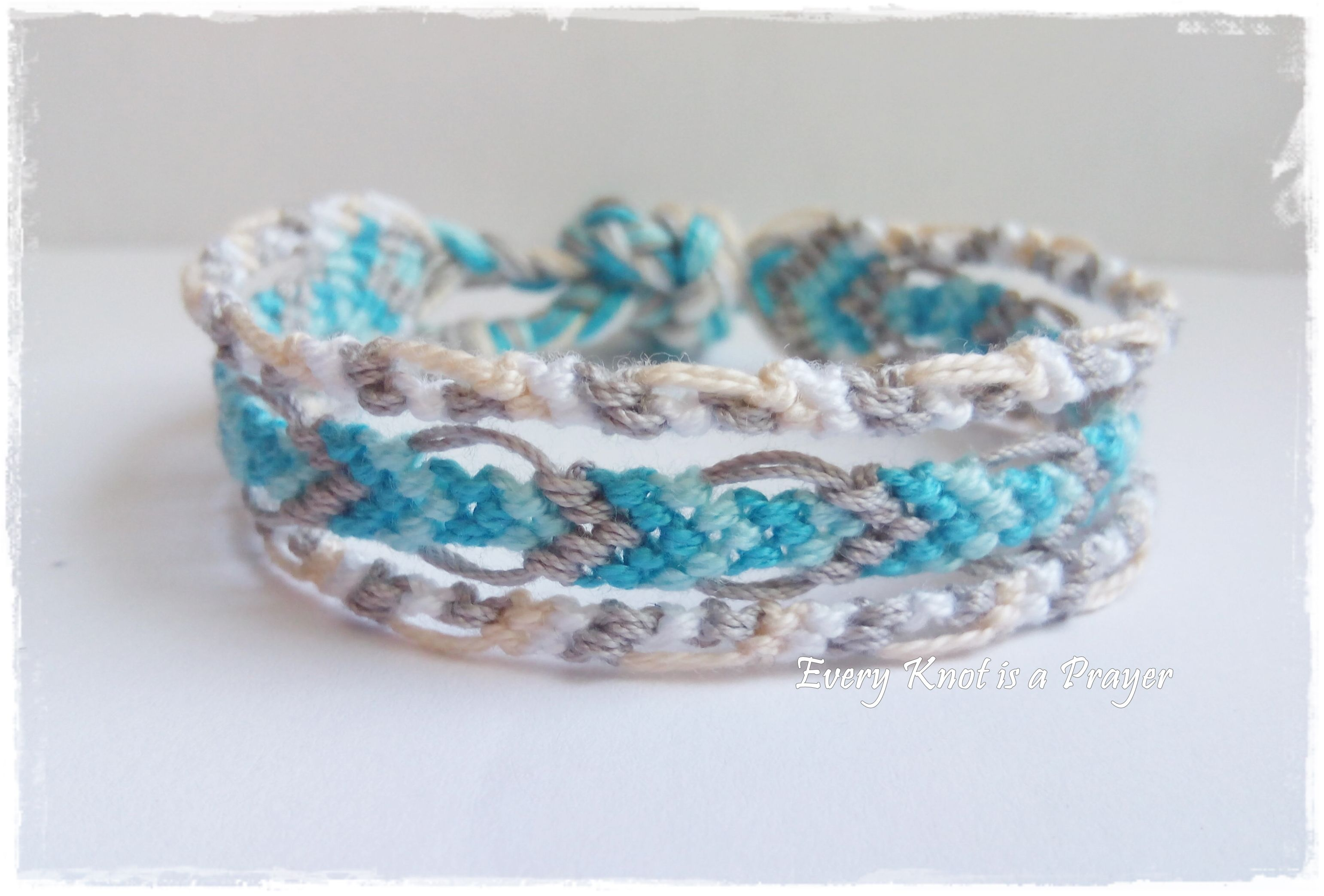 Knotted Friendship Bracelets For A Good