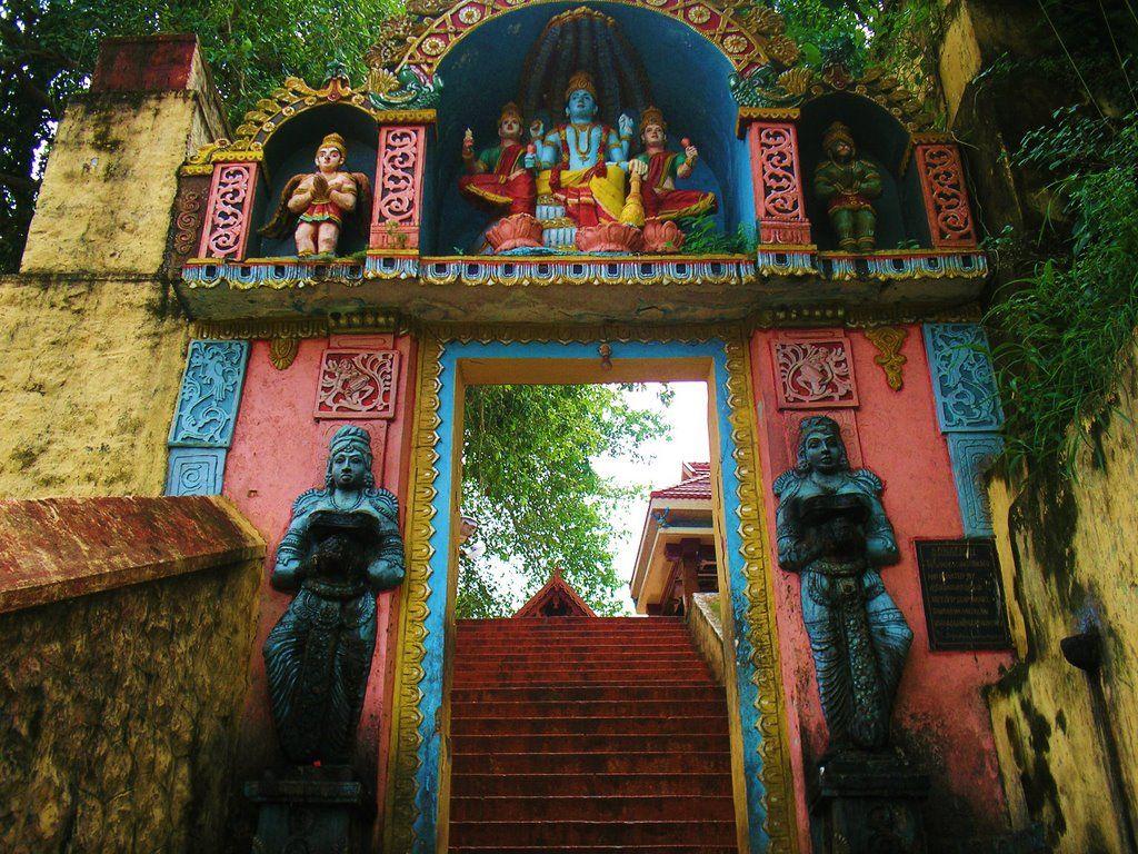 varkala temple Varkala, Color inspiration, Painting