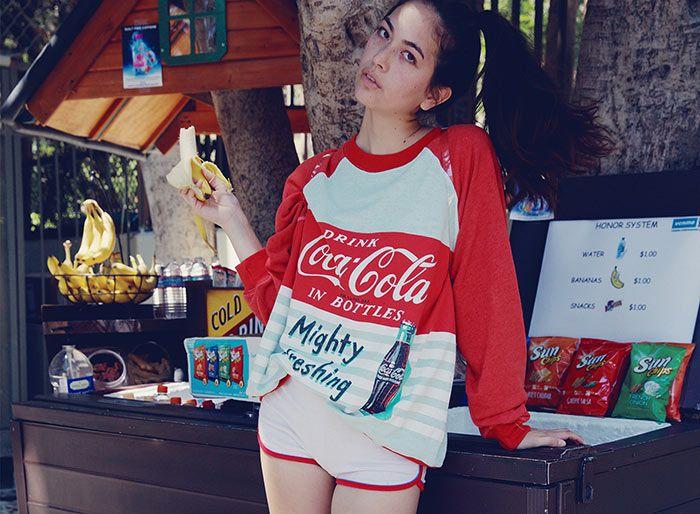Wildfox x Coca Cola Collection 2015  #fashion