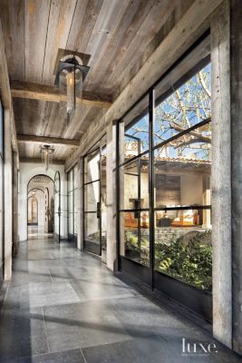 A traditional home's neutral #entry hall   See MORE at www.luxesource.com