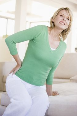 People experiencing back or leg pain; muscle spasms or excessive ...