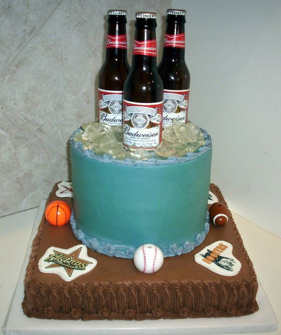 Beer Bottle Cake Decorations Photos Of Birthday Cakes For Men  Cake Gallery  Birthday Cakes