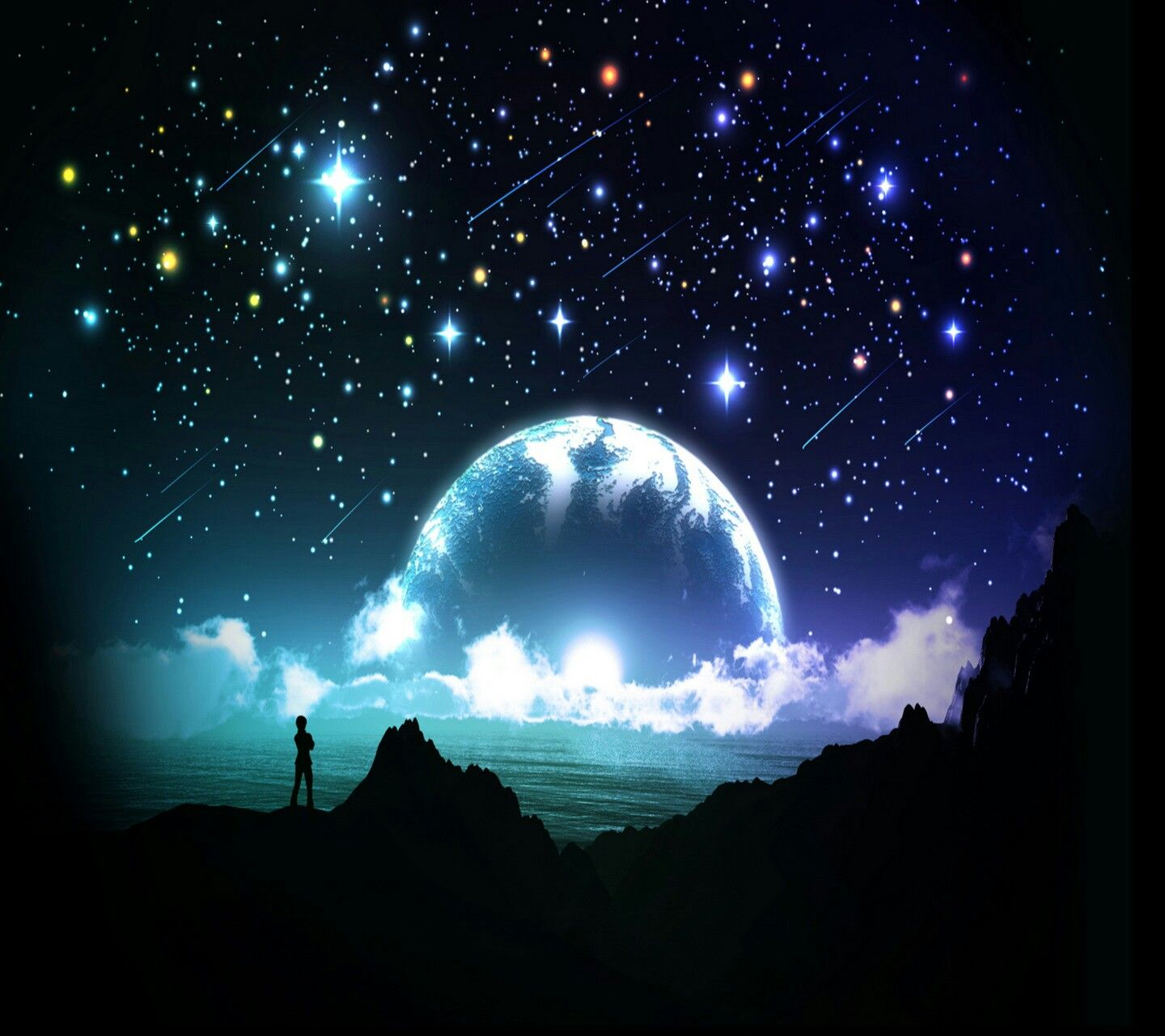 Pin by Cassy Chester on Moon and Sun Night sky stars