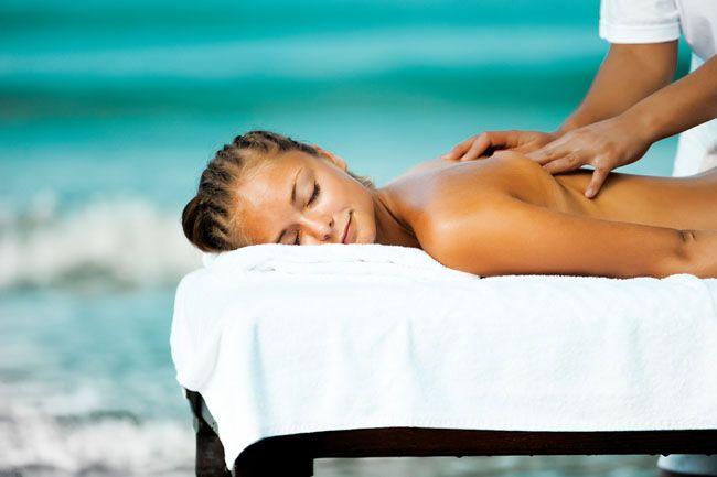 Massage On The Beach Spa Massage Relax Massage Therapy