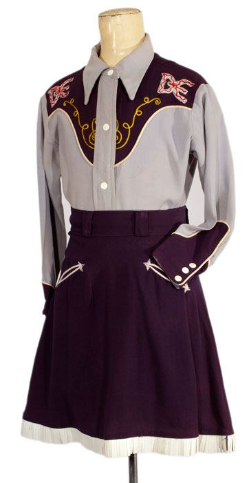 1950s Dale Evans Western Outfit