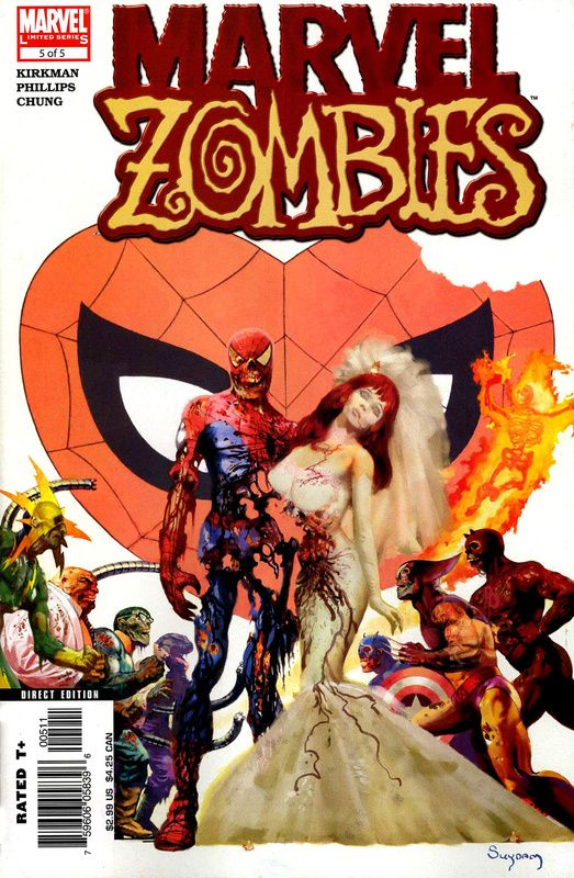 Marvel Zombies 5 Of 5 Cover Art Comic And Manga Art