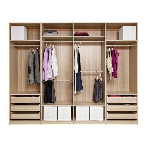 PAX Armoire avec aménagement intérieur IKEA Garantie 10 ans gratuite - Armoire Ikea Porte Coulissante