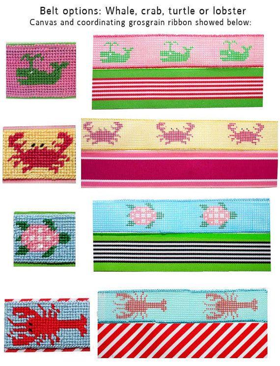 more needlepoint belt kits - love them all ;-)