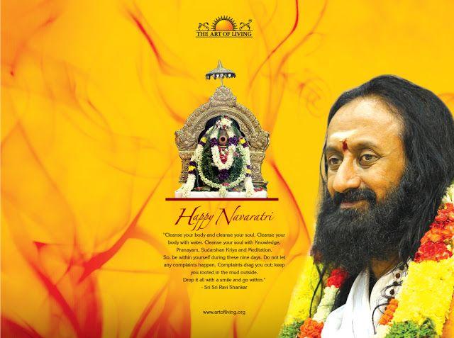 Sri Sri Ravi Shankar Wallpapers Guruji Wallpapers Navratri