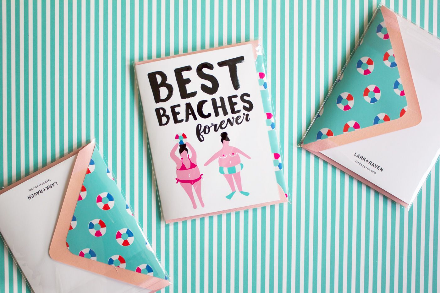 Best beaches forever greeting card by larkraven make today happy