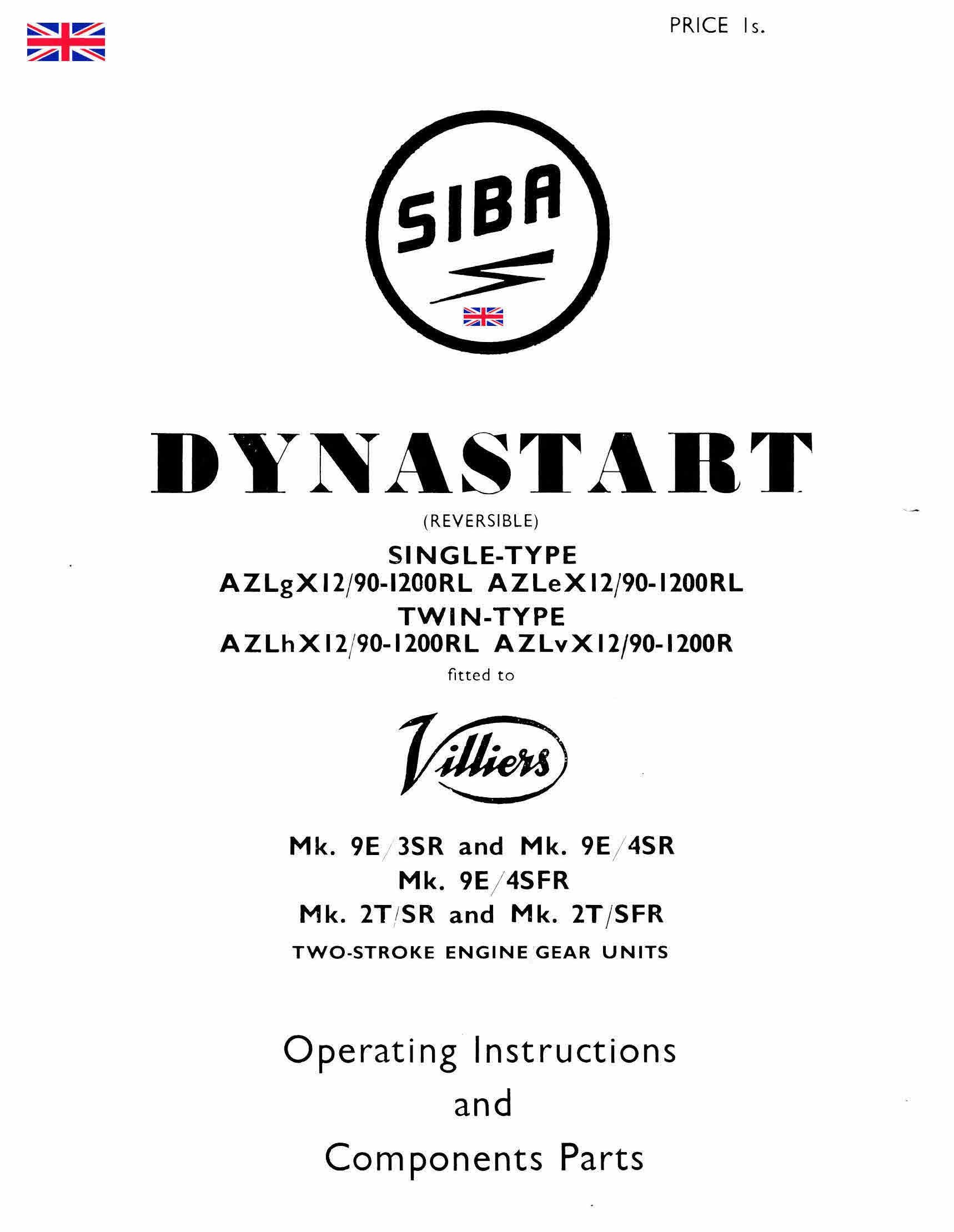 Villiers Siba Dynastart Manuals For Mechanics Pinterest Vintage New Holland Lawn Tractor Wiring Diagram Instructions And Parts Manualvarious Diagramsfor Bosch Diagramssome Compleet Some Experimentalall Very Usef