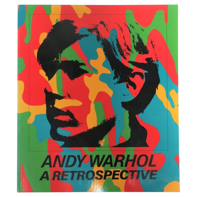 1980s 'Andy Warhol A Retrospective' Library or Coffee Table Book #andywarhol