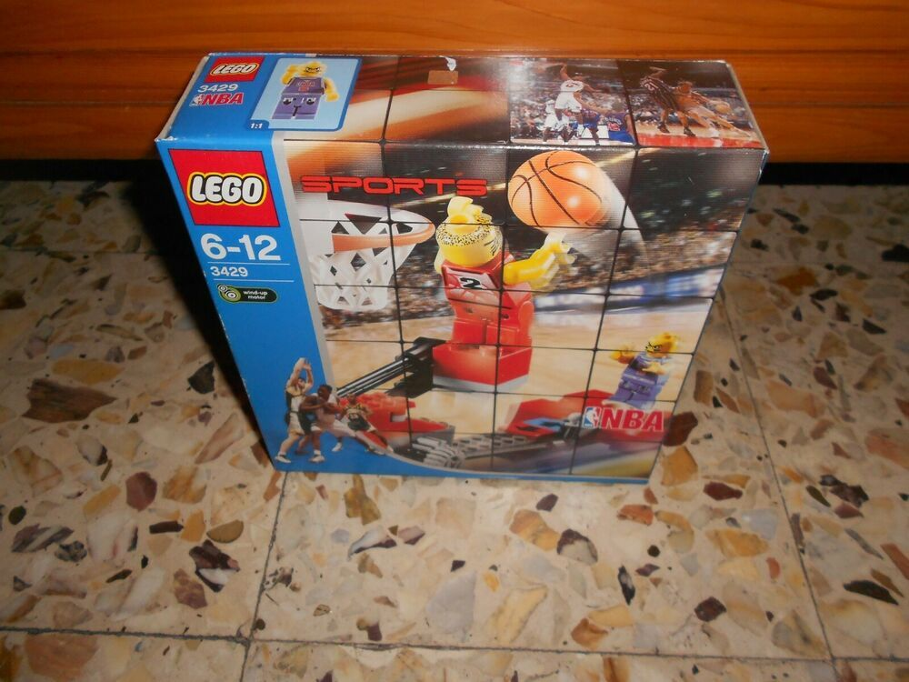 NEW LEGO 3429 Sports Basketball NBA Ultimate Defense 2003