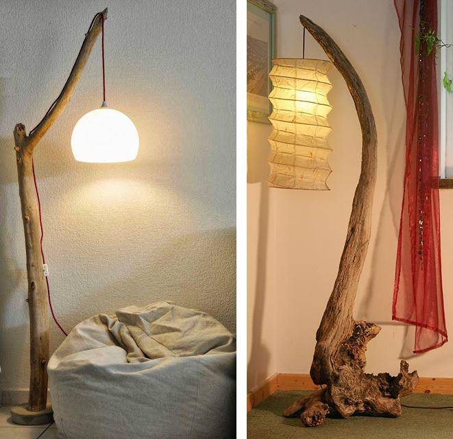 La Fabrique à Déco: DIY : idées déco avec des souches, des bûches ou ...