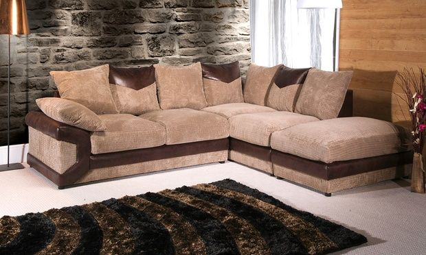 Rio Grande Corner Sofa With Matching Footstool In Choice Of Colour For 479 99 With Free Delivery 60 Off Corner Sofa Uk Corner Sofa How To Make Corner Sofa