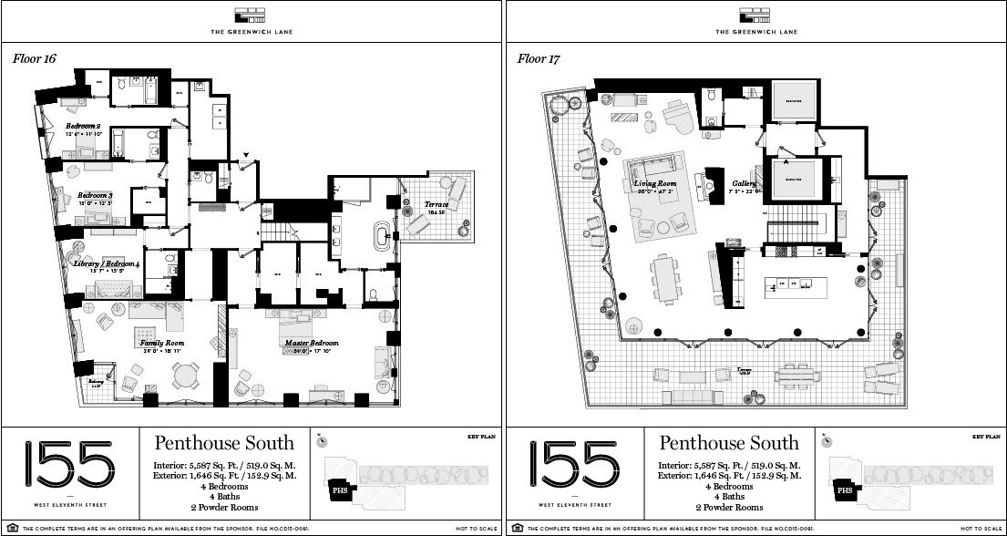 45m Greenwich Lane Smashes, Are House Floor Plans Public Record