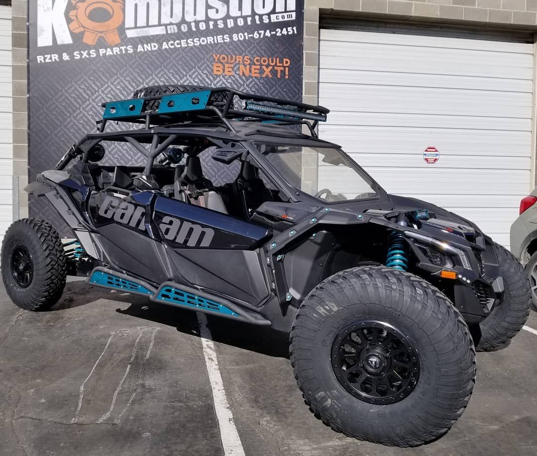 Kombustionutv Just Finished This Canam Max With A Full Set Of 35 Fueloffroad Utv Grippers On 15x7 Vector Wheels Heretic Motorsport Full Set Monster Trucks