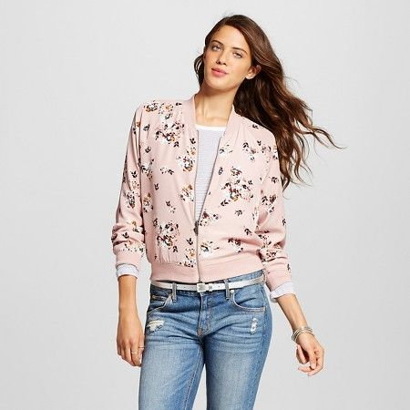 ea93fbad5e5c592f16ae2a0daf62aaf6 women's lace bomber jacket xhilaration™(juniors') pink bomber,Target Womens Xhilaration Clothing