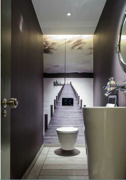 Paperwall Home decor Pinterest Toilet, Interiors and Bath