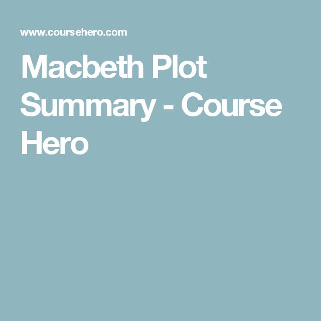 Macbeth Plot Summary Pinterest Macbeth Plot And Plot Diagram