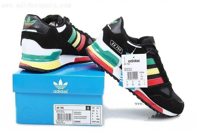 adidas zx 750 hombre negras
